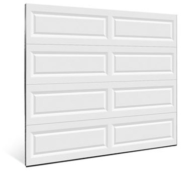 Composite garage door