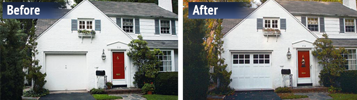 white house before and after