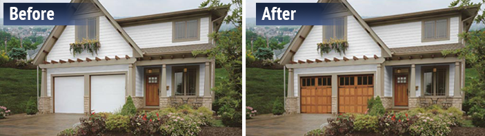 residential house before and after