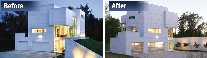innovative house before and after