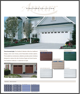 stratford collection garage doors