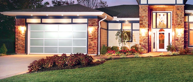 international garage cr modern designs showcases canyon series ibs new clopay ridge show door at pressreleases builders