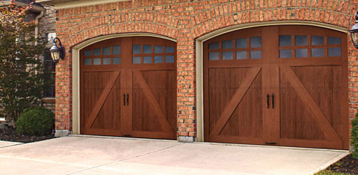 Glenmoor Garage Door Collection Wood Look Without The Wood
