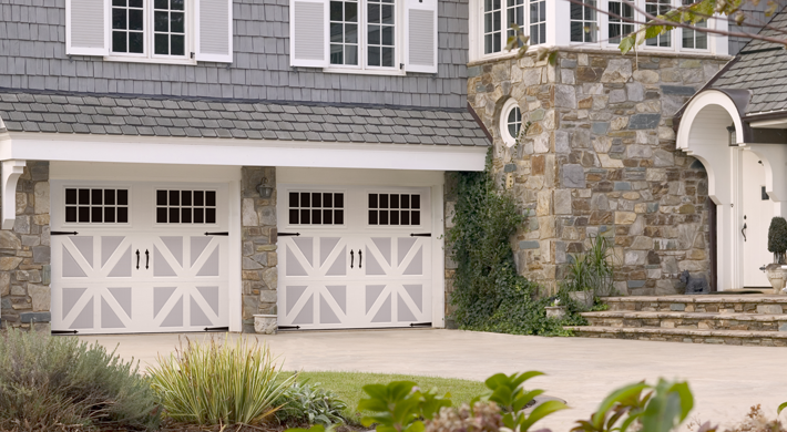 Classica Garage Door Carriage Look With Modern Functionality
