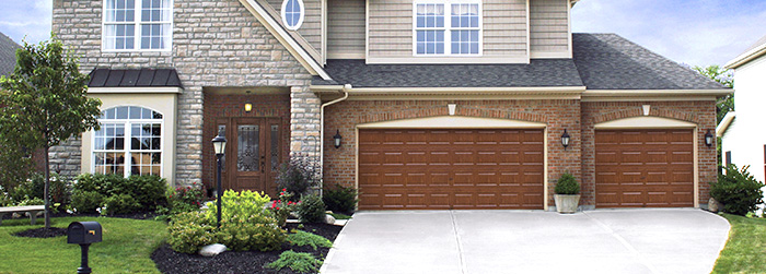 Superb Double Steel Insulated Elegant Overhead Garage Door