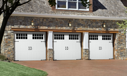 Garage doors direct residential garage door at affordable for Coach house garage prices