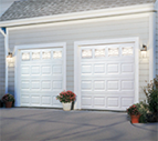 silver series garage door